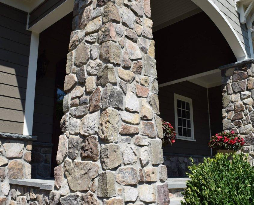 natural stone Veneer column