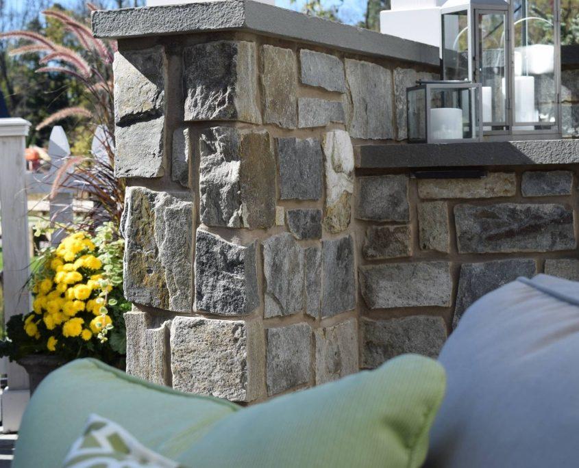 Square & Rectangle Stone Veneer patio stone