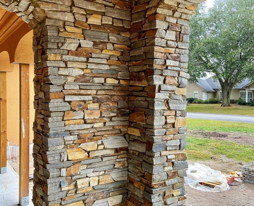 natural stone house exterior